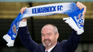 Clarke looking up with Killie