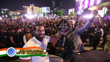 Jinder Mahal's homecoming
