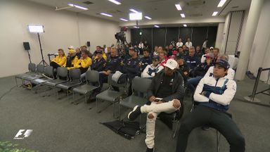 Inside a tense drivers' briefing