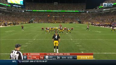 Steelers' trick play