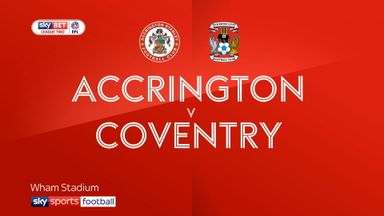 Accrington 1-0 Coventry