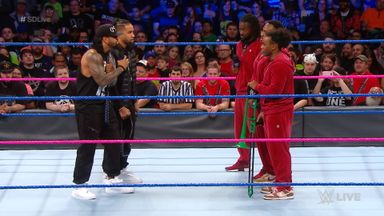 Usos offer truce to New Day