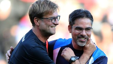 Friends reunited at Anfield