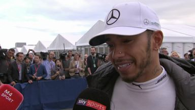 Hamilton: 10 years to get pole