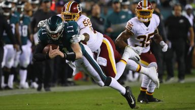 Redskins 24-34 Eagles