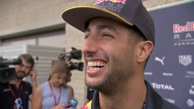 US GP Best Bits - Ricciardo's accent