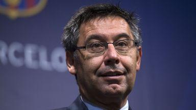 Barca president wants Catalonia talks