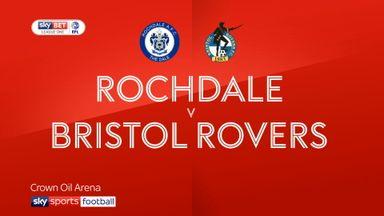 Rochdale 1-0 Bristol Rovers