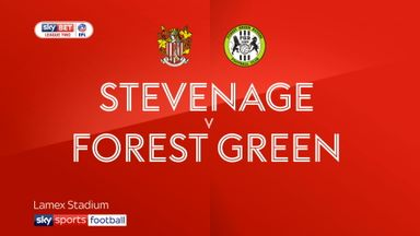 Stevenage 1-2 Forest Green