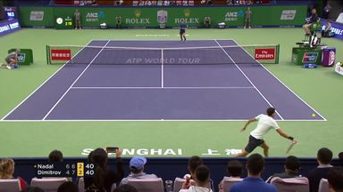 Dimitrov shows his class