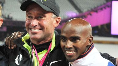 Farah splits with Salazar