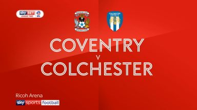 Coventry 0-0 Colchester