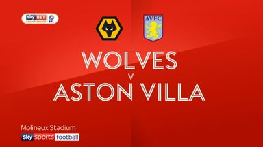 Wolves 2-0 Aston Villa