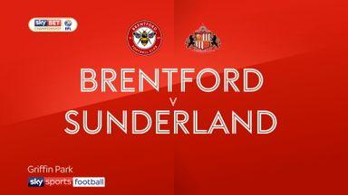 Brentford 3-3 Sunderland