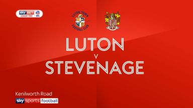 Luton 7-1 Stevenage