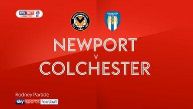 Newport 1-2 Colchester