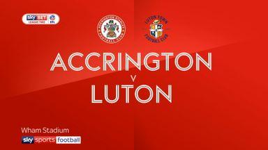 Accrington 0-2 Luton