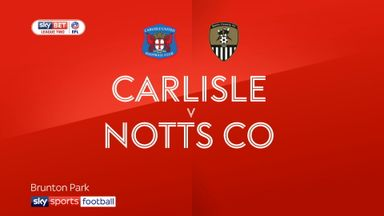Carlisle 1-1 Notts County