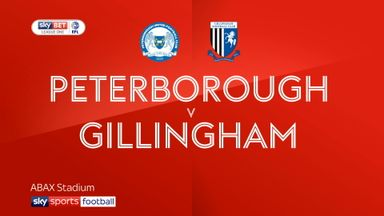 Peterborough 0-1 Gillingham