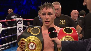 Burnett becomes unified World champion