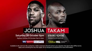 Joshua v Takam - Coming soon