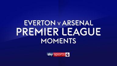 Everton v Arsenal Moments