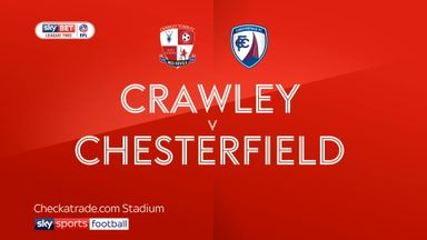 Crawley 0-2 Chesterfield