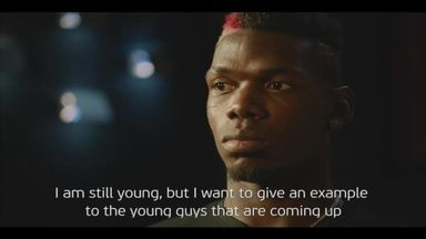Pogba backs Uefa #EqualGame campaign