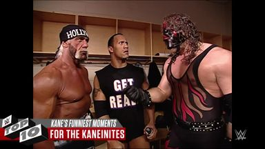 WWE Top 10: Kane's funniest moments