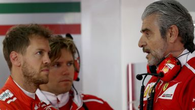 'Ferrari under pressure'