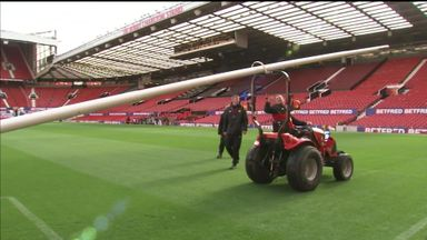 Old Trafford prepares for Grand Final
