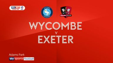 Wycombe 0-0 Exeter