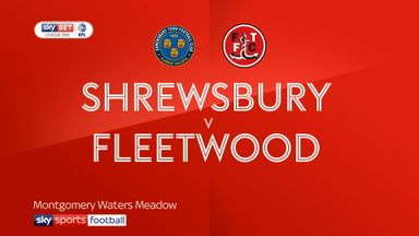 Shrewsbury 1-0 Fleetwood