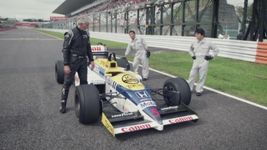 Damon drives the FW11