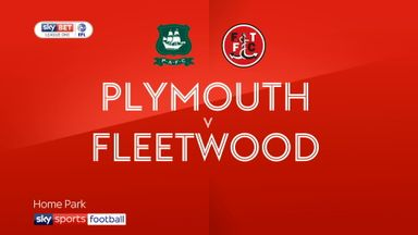Plymouth 1-2 Fleetwood