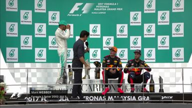 Malaysian GP: Podium Interviews