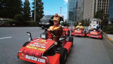 Williams go Mario Karting in Tokyo!