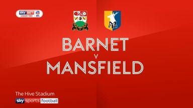 Barnet 1-1 Mansfield