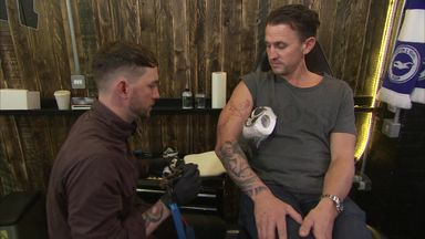 Brighton players unite over tattoo parlour