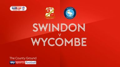Swindon 1-0 Wycombe
