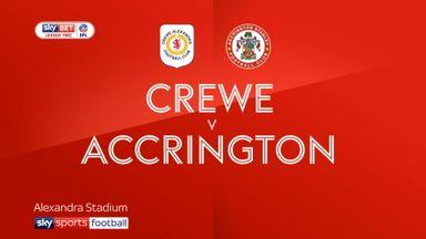 Crewe 0-2 Accrington