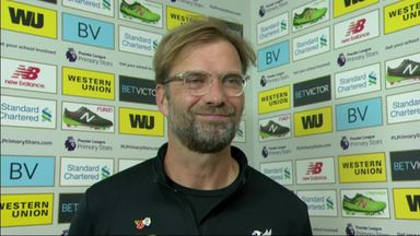 Klopp delighted with response