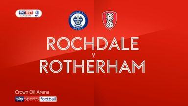 Rochdale 0-1 Rotherham