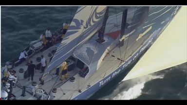 Sky team make strong start to Ocean Race