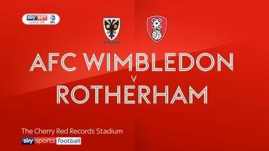 AFC Wimbledon 3-1 Rotherham