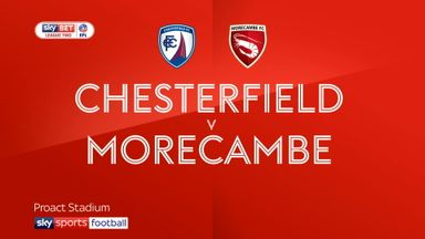 Chesterfield 0-2 Morecambe