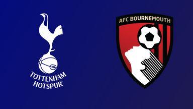 Tottenham v Bournemouth