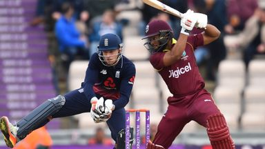 England v Windies: 5th ODI