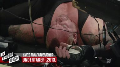 The Shield's best Triple Powerbombs