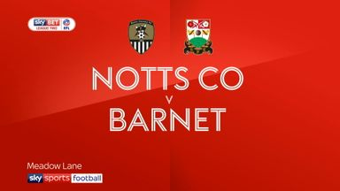 Notts Co 2-1 Barnet